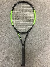 Wilson Blade SW 104 Autograph STRUNG 4 1/4 Serena Williams Countervail CV Racket