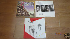 3- LP RECORDS LOT--MANHATTAN TRANSFER-BEST OF--VOCALESE-EXTENSIONS--NICE LP'S
