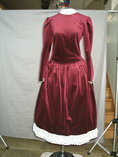 Victorian Women's Costume Edwardian Dress Civil War Girl Small Woman