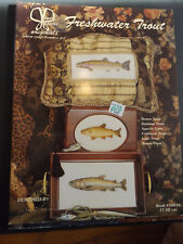 Freshwater Trout Stitch Leaflet by Janet Towers