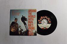 PAPA BUE'S VIKING JAZZ BAND Around The World 45 Storyvile Rec. SEP-375 VG++ B4