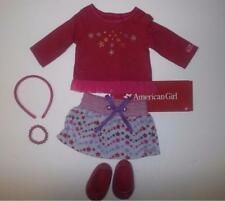 "American Girl 18"" doll outfit   skirt, top, shoes and accessories"
