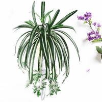 1Pc Chlorophytum Comosum Faux Greenery Artificial Spider Plant Home Hotel Decor