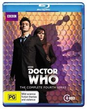 Doctor Who The Complete Fourth Series 4 blu ray set Season David Tennant Kylie