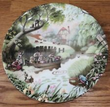The Old Mill Stream Robert Hersey The Tale of a Country Village Plate Coalport