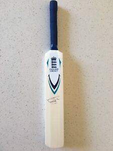 Graeme Swann England Mini Cricket Bat Hand Signed. Autographed Bat. COA