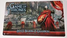A Game of Thrones The Card Game Playmat 2013 Season 2 House Lannister