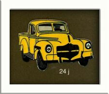 pin's Demons et Merveilles Voiture Pickup jaune