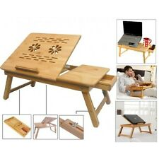 TI Laptop Table e table Study Reading without Cooling Fan Bamboo