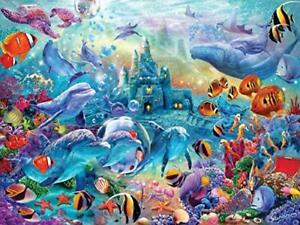 MasterPieces Hidden Images Glow - Sea Castle Delight 500-Piece Jigsaw Puzzle