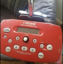 More details for boss ve-5 vocal fx performer effects processor, red
