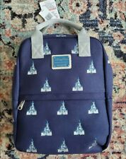 New Disney Parks Loungefly Magic Kingdom Cinderella Castle Canvas Backpack