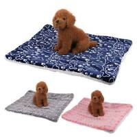 Large Indestructible Dog Bed Warm Plush Cushion Sleep for Kennel Crate M-XL