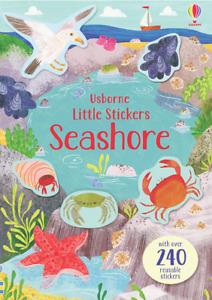 Usborne Little Stickers Seashore 240+ stickers (Paperback) FREE shipping $35