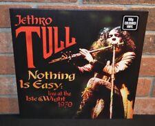 JETHRO TULL - Nothing Is Easy: Live 1970, Ltd 180G 2LP RED VINYL Gatefold NEW!