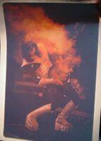 KISS VINTAGE 1977 ACE FREHLEY LIVE IRON ON ORIGINAL TRANSFER NOS