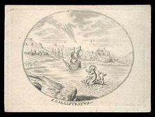 santino incisione 1700 S.CALLISTRATO M.