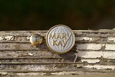 Mary Kay Globe Gold Tone Metal Lapel Pin Pinback Brooch