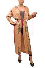 Free People Womens Kimono Duster OB643538 Robe Slim Gold Size XS