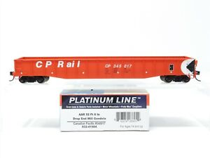 HO Scale Walthers Platinum Line 932-41904 CP Canadian Pacific Gondola #345017