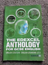 The Edexcel Anthology for GCSE English
