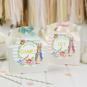 PERSONALISED EASTER ACTIVITY GIFT BOX  | PETER RABBIT | EASTER EGG HUNT TREAT