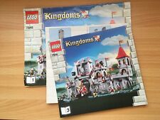 Lego Castle 7946 King's Castle - Instruction Manual Only book 1 2 & 3 -Rare