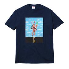 NWT Supreme NY Men's Navy Mike Hill Runner Box Logo Print T-Shirt SS17 AUTHENTIC