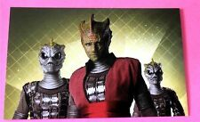 Homo Reptilia Warrior Class a New Type of Silurian New Doctor Who Postcard