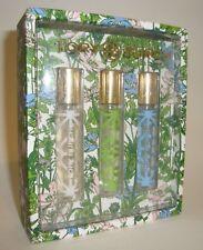 Tory Burch Jolie Fleur Rose Verte Bleue 3 Mini Travel Perfume Spray Gift Set