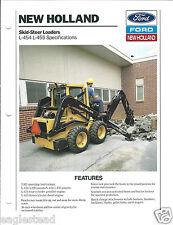 Equipment Brochure - New Holland - L-454 L-455 Skid Steer Loader - 1990 (E3067)