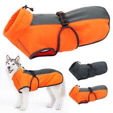 Medio a Prueba De Agua Perros Grandes Ropa De Invierno Abrigo Chaqueta cálida Reflectante Mascota Perro