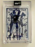 Topps Project 2020 Derek Jeter Artist Gregory Siff 93 PR 48,465 NY Yankees HOF