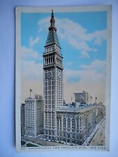 "CPA ""Metropolitan Life insurance Building - New York"""