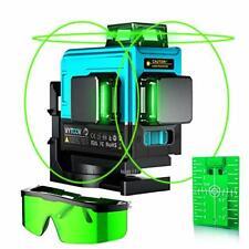 Nivel Láser, VYTOOV 3x360 Cruz 3D láser de línea 12-Láser Autonivelante haz verde