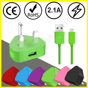 100% Genuine CE charger plug Adapter & Data Cable For iPhone XR/8/7/6/11/12/XS/X