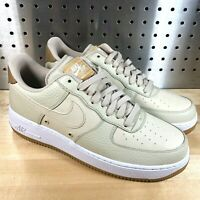 New Nike Air Force 1 Low '07 LV8 'Sail Linen' 718152-107 Men's Size 9