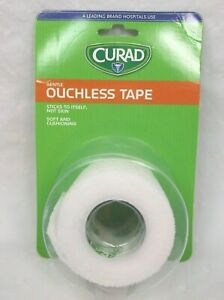 "Curad Ouchless Tape: 2"" x 2.3 Yds - 1 Roll"
