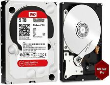 WD Red Pro 5TB NAS Desktop Hard Drive Intellipower 6 GBs 128 MB Cache WD5001FFWX