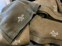 Fantastic WW2 British 1939 dated Jeep scarf in near mint unissued condition!
