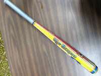 "Vintage Tim Mee Toys Kid League hollow plastic 30"" baseball bat. Made in USA"
