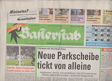 Newspaper Baslerstab  FC Basel v Feyenoord Rotterdam 17-04-2004 UEFA Cup