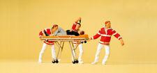 """Preiser 10532 H0 Figuras"""" Medic con Krankentrage"""" # Nuevo en Emb. Orig. ##"""