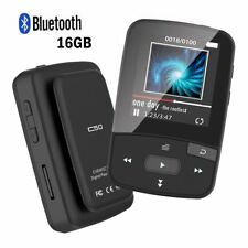 CFZC Clip 16GB Bluetooth MP3 Player for Running/Audiobooks Lossless Sound Music