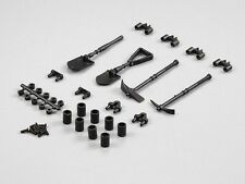 killerbody Plastik Deko Set 'Werkzeuge Outddor' 1/10 - KB48256