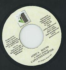 """ AFRICA BOUND."" capleton & uplifter. V1 RECORDS 7in 2000."