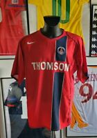 Maillot jersey shirt trikot maglia PSG paris vintage 2004 2005 pauleta  Thomson