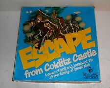 Vintage 1972 Invicta Games ~ ESCAPE FROM COLDITZ ~ 99.9% Complete ~ 1st Edition