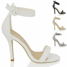 Women's Stiletto High Heel (3-4.5 in.) Synthetic Leather Shoes