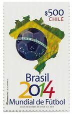 Chile 2014 #2516 World Cup Soccer Brazil Fifa MNH